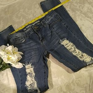 Distressed The Perfect Boyfriend Jeans